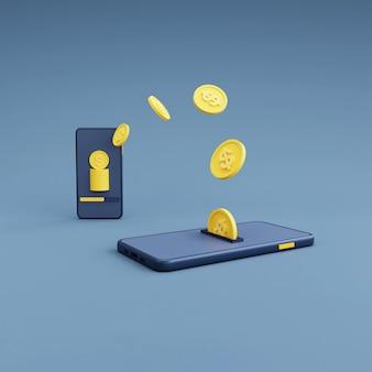 Przelew pieniędzy z telefonu komórkowego na telefon komórkowy