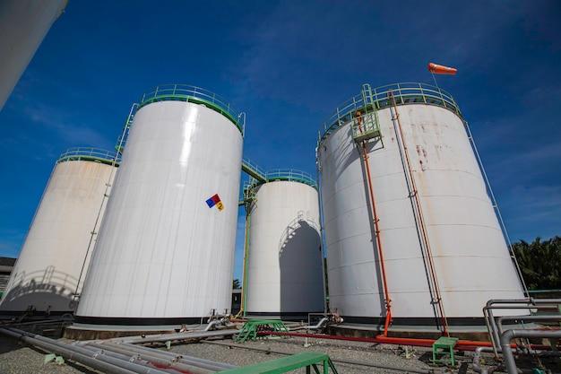 Przemysł chemiczny zbiornik magazynowy propan stal węglowa zbiornik.