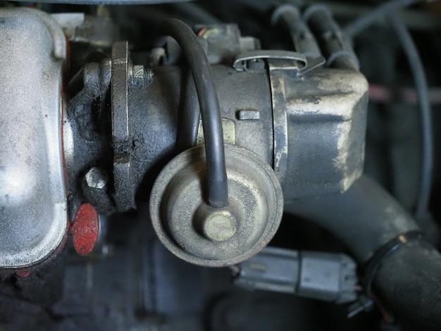 Przemysłowe tło silnika samochodowego