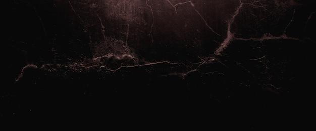 Przerażające ciemne ściany, lekko jasna czarna betonowa tekstura cementu na tle