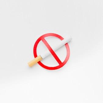 Przestań palić znak