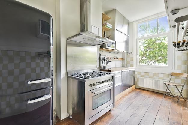Przestronny projekt kuchni
