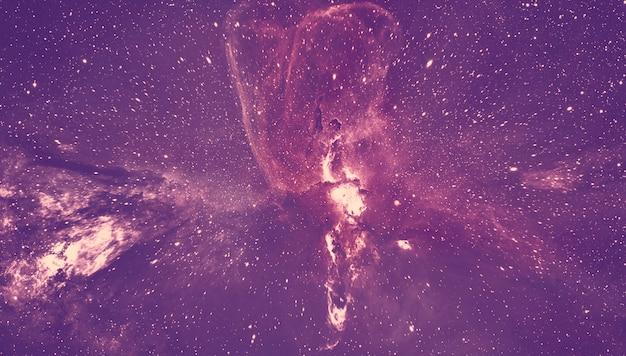 Przestrzeń galaktyki widok z góry
