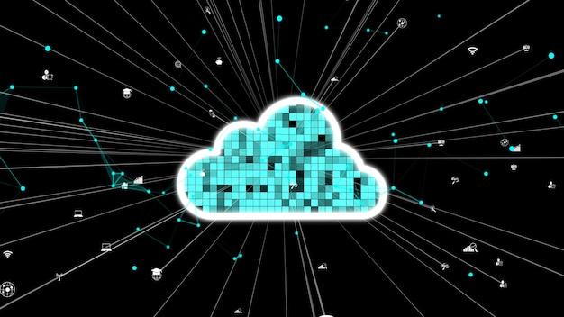 Przetwarzanie w chmurze i technologia przechowywania danych dla przyszłych innowacji