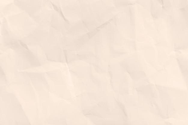 Przetworzony zmięty papier brązowy tekstura tło