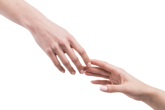 Przycinaj rękę do siebie