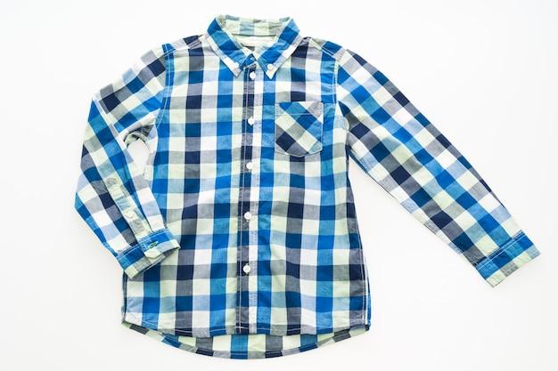 Przycisk bawełniana koszula klasyczne tła