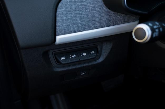 Przyciski do samochodów elektrycznych z funkcjami najnowszej generacji