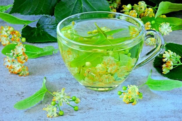 Przydatna herbata z gorącą limonką. herbata fitness z lipą.