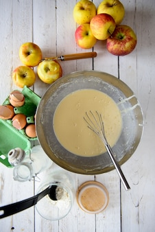 Przygotowanie ciasta naleśnikowego
