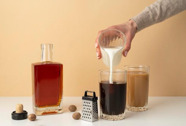 Przygotowanie kawy w domu