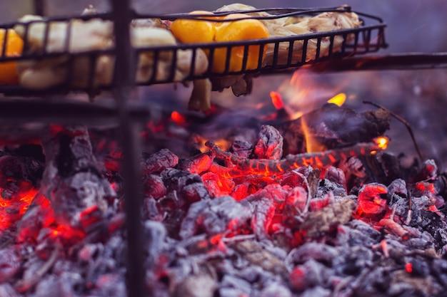 Przygotowanie mięsa i roślin