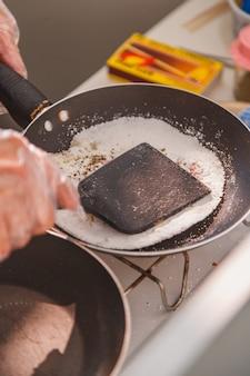 Przygotowanie pysznej tapioki