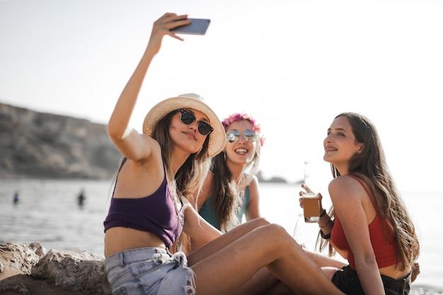 Przyjaciele w lecie