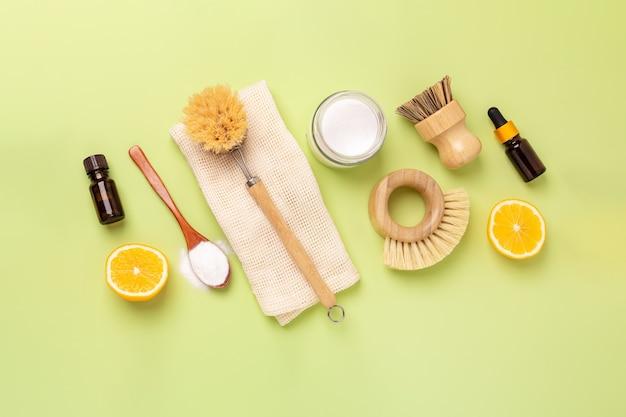Przyjazne dla środowiska środki i narzędzia do czyszczenia