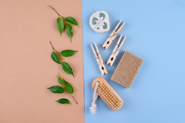 Przyjazny dla środowiska pędzel i mydło zero waste