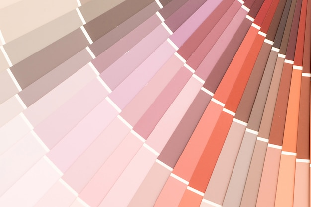 Przykładowy katalog kolorów pantone