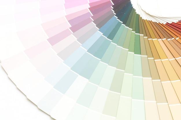Przykładowy katalog kolorów