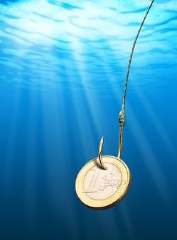 Przynęta na monety euro