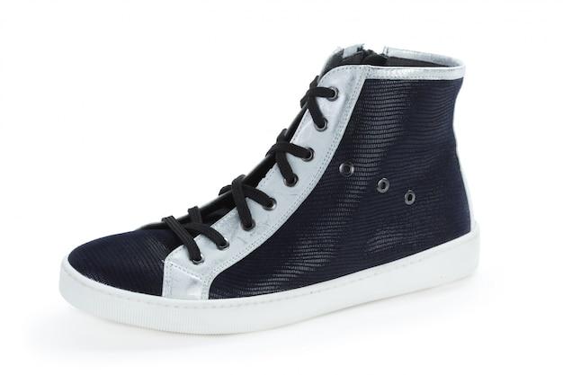 Przypadkowi męscy rzemienni buty odizolowywający