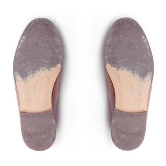 Przypadkowy kolor podeszwy butów siłowni