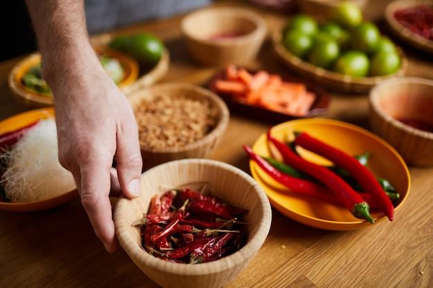 Przyprawy chili pepper