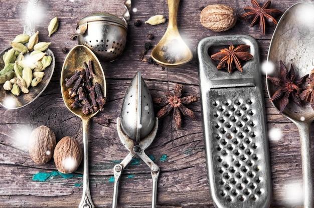 Przyprawy do herbaty zimowej