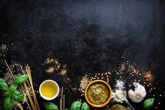 Przyprawy do przygotowania włoski makaron