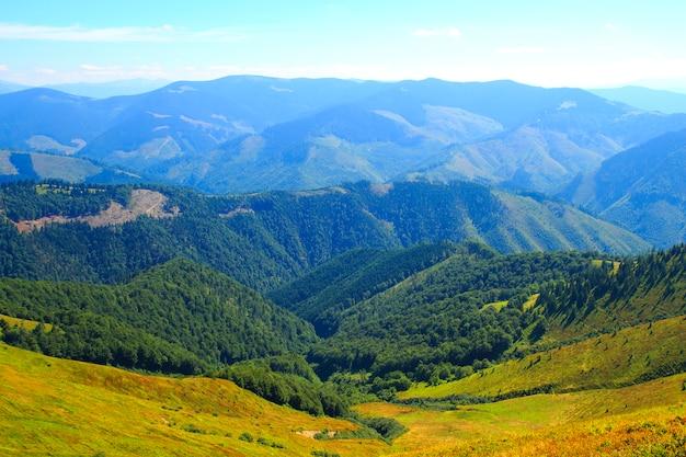 Przyroda w górach, piękna sceneria, piękna górska sceneria
