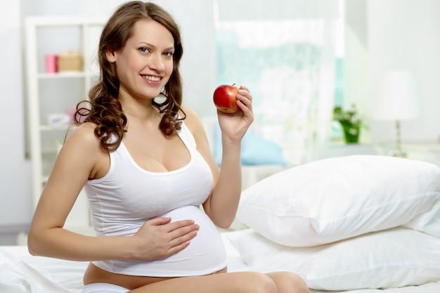Przyszła brzuch w ciąży brzuch ciąża