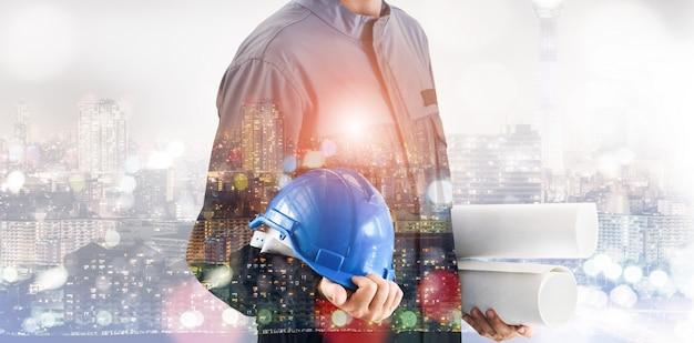 Przyszły projekt inżynierii budowlanej.