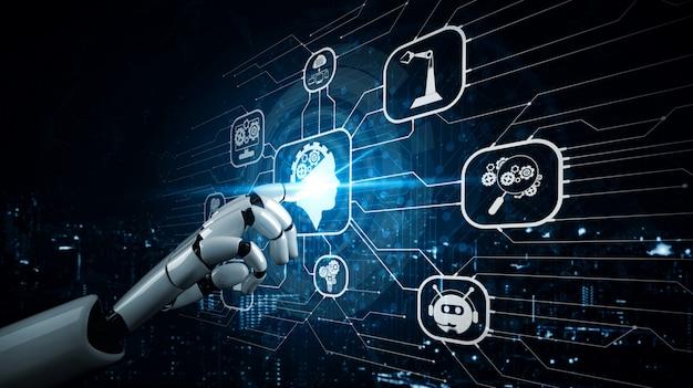 Przyszły robot sztucznej inteligencji