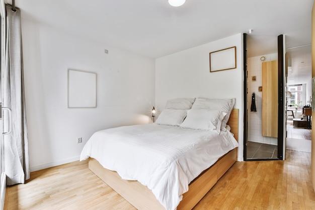 Przytulny projekt sypialni