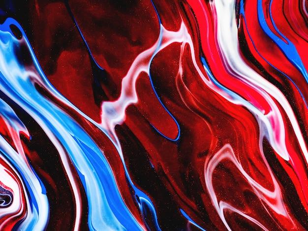 Psychodeliczna tekstura farby