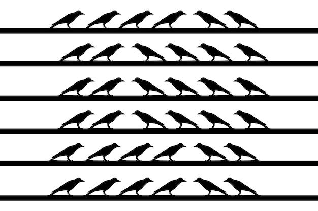 Ptaki na drucie