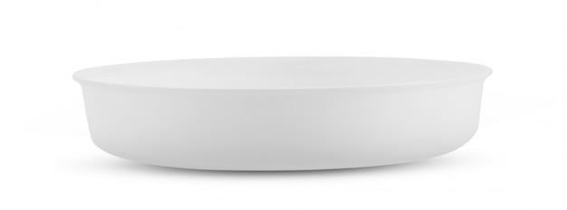 Puchar odizolowywający na białym tle