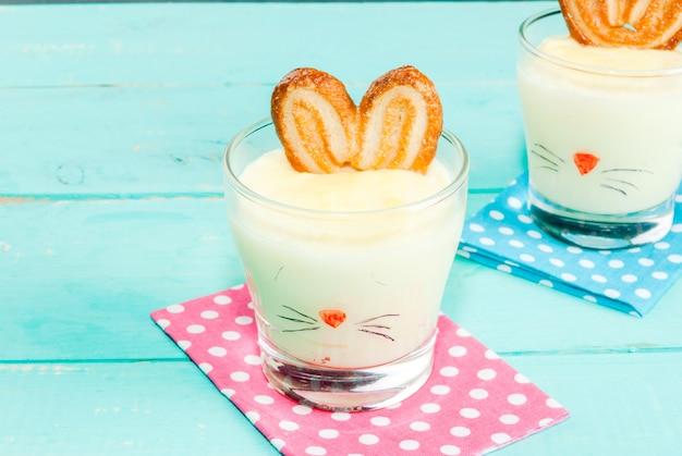Pudding-zajączek na wielkanoc