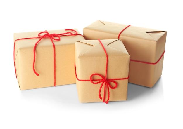 Pudełka na prezenty na paczki