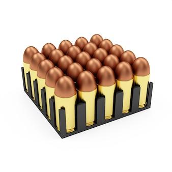 Pudełko z amunicją nabojów