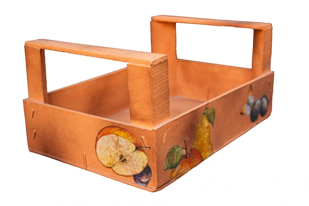 Pudełko z owocami urządzone