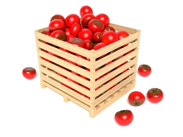 Pudełko z pomidorami