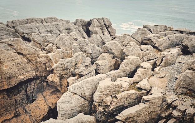 Punakaiki, zachodnie wybrzeże, wyspa południowa, nowa zelandia