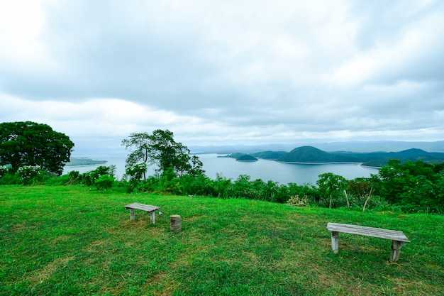 Punkt widokowy highland.