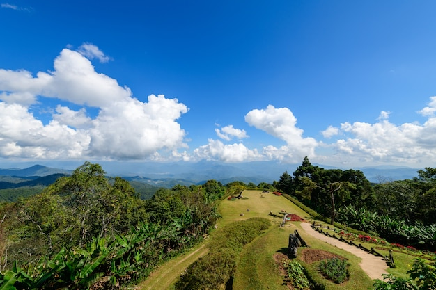 Punkt widokowy w parku narodowym huai nam dang