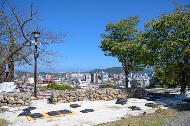 Punkt widzenia miasta w prefekturze kumamoto.
