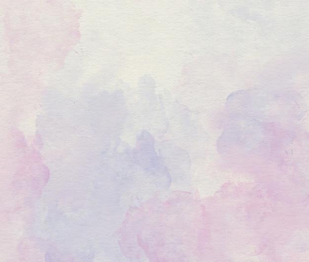 Purpurowa akwarela miękkie streszczenie tło