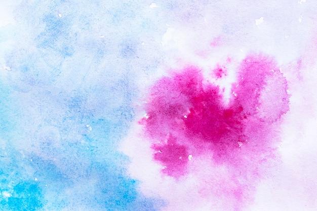 Purpurowe i niebieskie tło akwarela