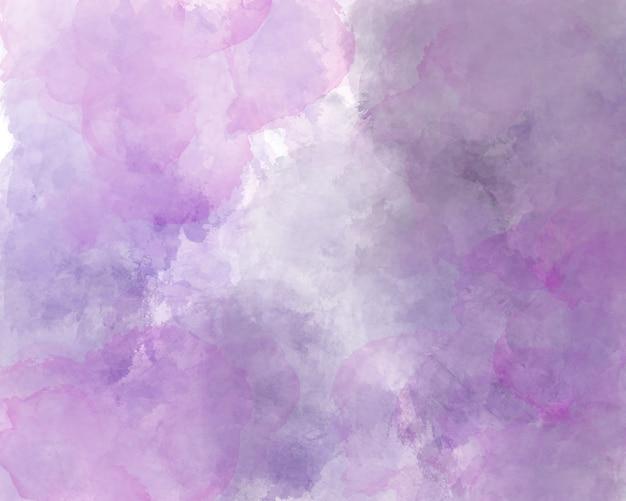 Purpurowe tło akwarela