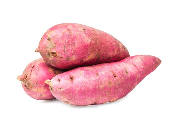 Purpurowy słodkie ziemniaki