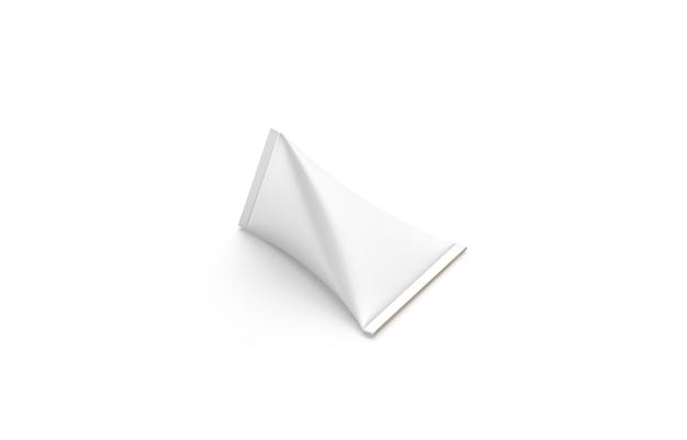 Pusta Biała Tekturowa Kremowa Piramida Premium Zdjęcia